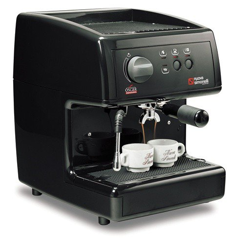 COFFEE MACHINE OSCAR BLACK S/P